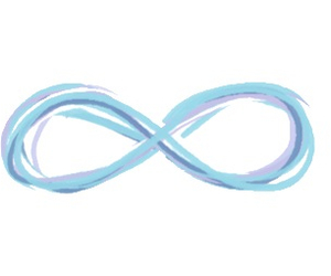 infinity, overlay, and transparent image