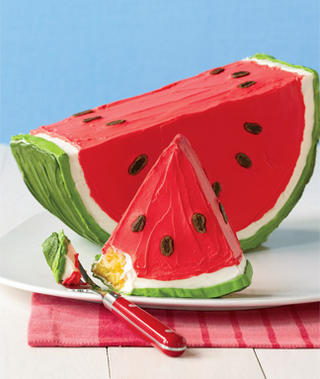watermelon, cake, and food image