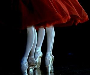 ballet, beauty, and red image