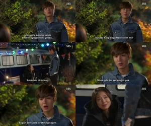 lee min ho, kdrama, and park shin hye image