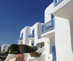 architecture, Greece, and mykonos image