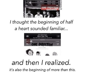 half a heart, midnight memories, and one direction image