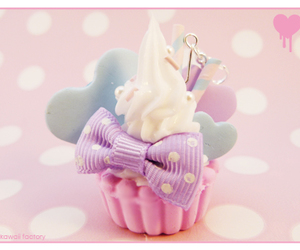 cupcake, pink, and doces image