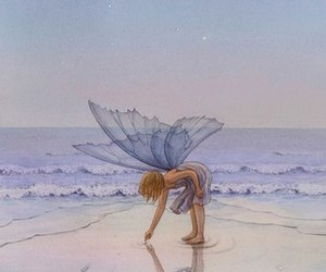 fairy and ocean image