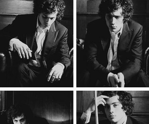 aaron johnson and black and white image