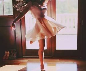 girl, dance, and dress image