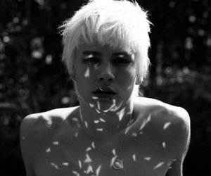 luke worrall, boy, and black and white image