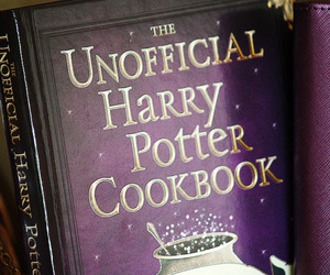 harry potter, book, and cookbook image