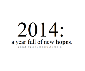 new year and 2014 image