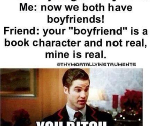 books, boyfriend, and friends image