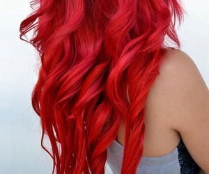 colored hair, hair color, and dyed hair image
