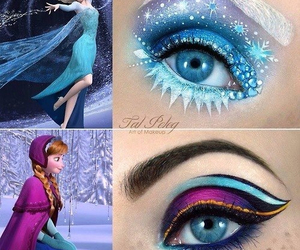 anna, Queen, and elsa image