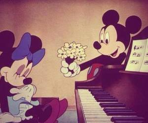 love, disney, and flowers image