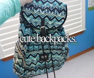 backpacks, cool, and cute image