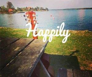 happily, one direction, and song image