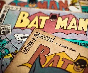 batman, comic, and vintage image