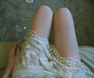 legs, lace, and thin image