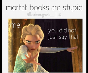 books, frozen, and me image
