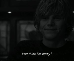 crazy, american horror story, and tate image