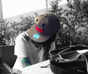 domo, tattoo, and cap image