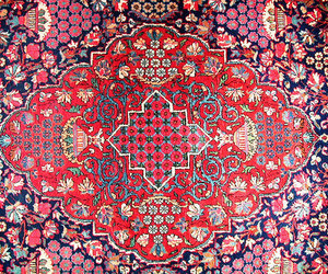 pattern, persian, and red image