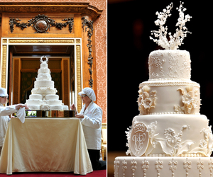 beauty, cake, and royal wedding image