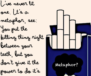 book, metaphor, and quote image