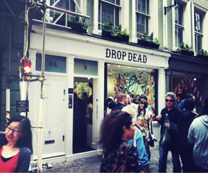 drop dead and store image