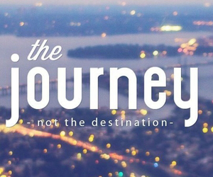 destination, journey, and the image
