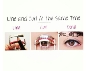 curl, line, and diy image
