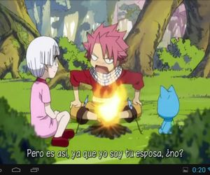 happy, future wife, and fairy tail image