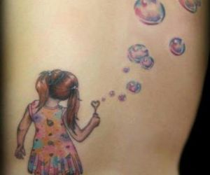 hipster, tattoo, and tatttoed girl image