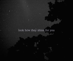 black and white, typography, and coldplay image