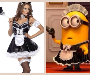 costumes, minions, and models image