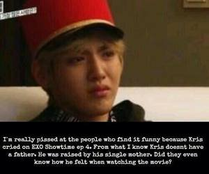 exo, kris, and cry image