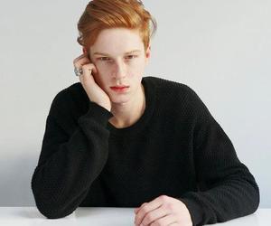 boy, ginger, and model image