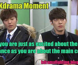 bromance, korean, and moment image