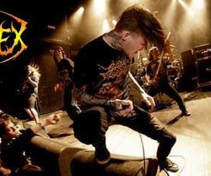 carnifex, deathcore, and scott lewis image