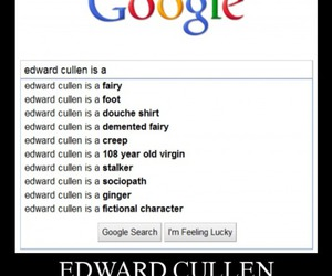 edward cullen, funny, and lol image
