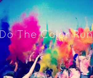 Just Do It, bucket list, and color run image