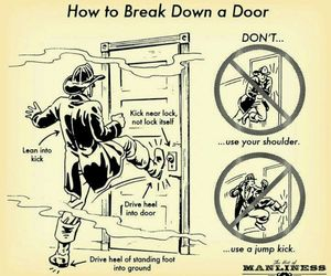 funny, door, and lol image