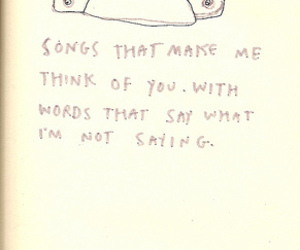 song, words, and music image