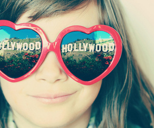 hollywood, girl, and glasses image