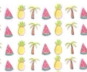 palms, pineapple, and png image