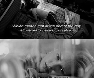 alone, grey's anatomy, and quote image