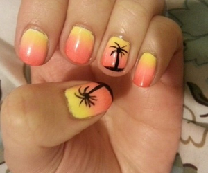 california, nail art, and nails image