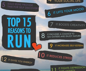 run, fitness, and healthy image