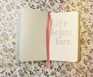 life, book, and here image