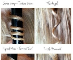 curls, how to, and hair tutorial image