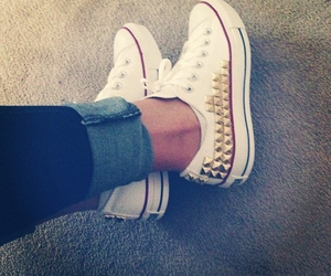 beautiful, converse, and cool image